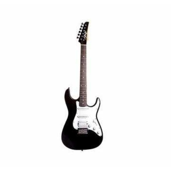 Guitarra Vision Rw Black C / Escudo Branco Perolado - Seizi
